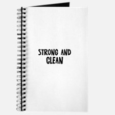 Strong and Clean Journal
