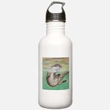 Playful River Otter Water Bottle