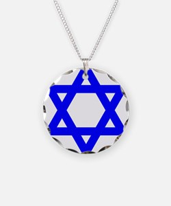 Flag of Israel Necklace