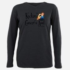 Cute Cancer funny Plus Size Long Sleeve Tee