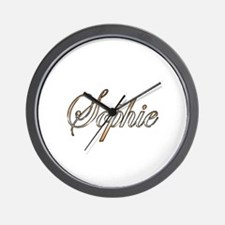Unique Sophie Wall Clock