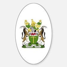 Cute Rhodesian Sticker (Oval)