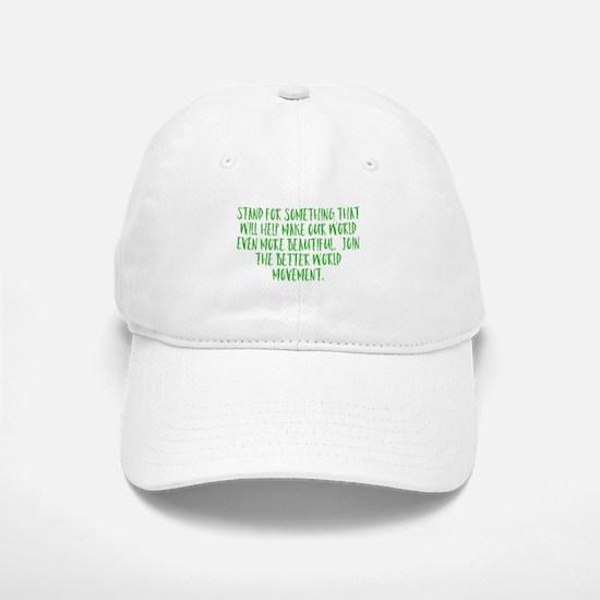 Stand For Something Baseball Baseball Baseball Cap