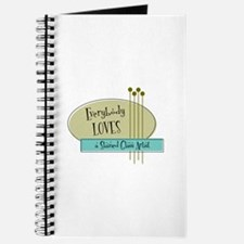 Everybody Loves a Stained Glass Artist Journal
