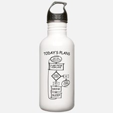 Skydiving Flow Chart H Water Bottle