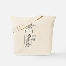 Cute Snow Tote Bag
