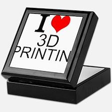 I Love 3D Printing Keepsake Box