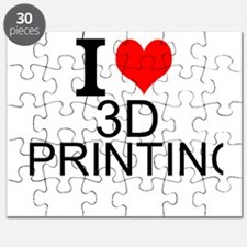 I Love 3D Printing Puzzle