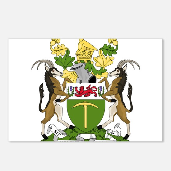 Coat of arms of Rhodesia Postcards (Package of 8)