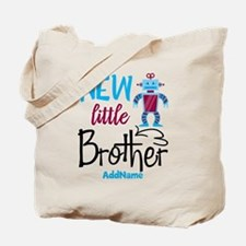Little Brother Robot Personalized Tote Bag