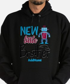 Little Brother Robot Personalized Hoodie