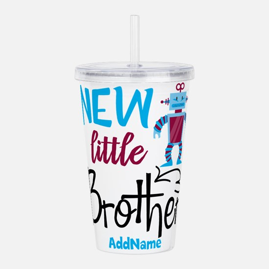 Little Brother Robot Personalized Acrylic Double-w