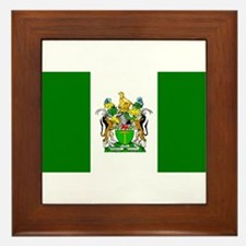 Unique Rhodesia Framed Tile