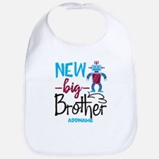 Big Brother New Big Brother Robot Personalized Bib