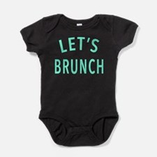 Lets Brunch Baby Bodysuit