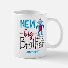 Big Brother New Big Brother Robot Personalized Mug
