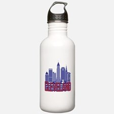 Cleveland City Colors Water Bottle