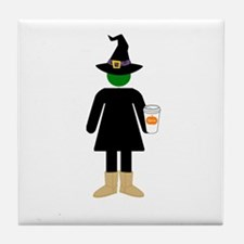 Basic Witch Tile Coaster
