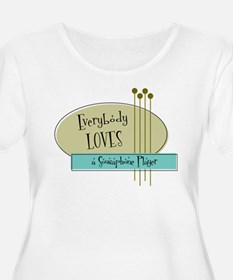 Everybody Loves a Sousaphone Player T-Shirt