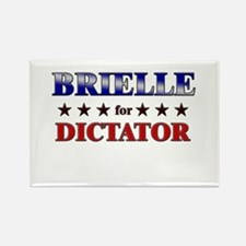 BRIELLE for dictator Rectangle Magnet