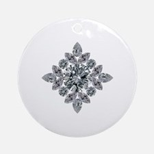 Cute Marquise Round Ornament