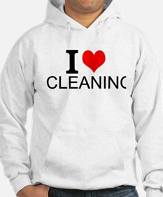 I Love Cleaning Hoodie