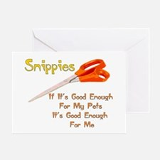 Snippies Greeting Cards