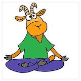 Goat yoga Posters