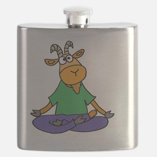 Unique Cartoon goat Flask
