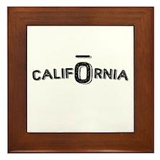 CALIFORNIA OIL Framed Tile