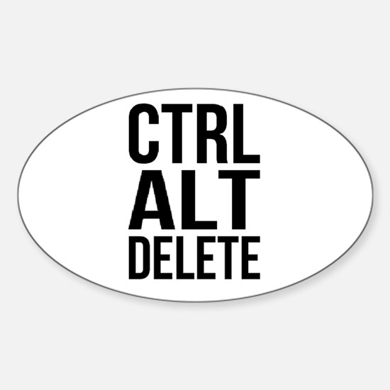 Control Alt Delete Decal