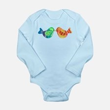 Bright and Happy Love Birds Body Suit