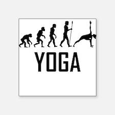 Yoga Evolution Sticker