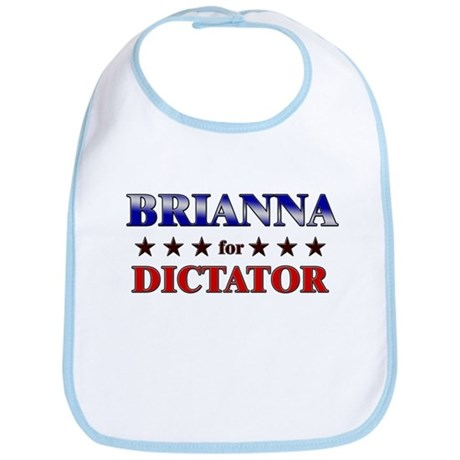 BRIANNA for dictator Bib
