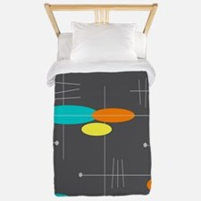 Space Age Spheres Twin Duvet