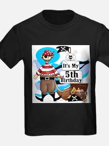 Pirate's Life 5th Birthday T-Shirt