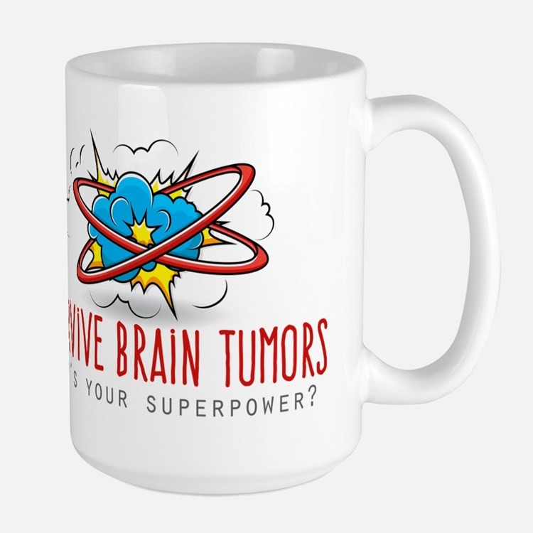 I Survive Brain Tumors Mugs