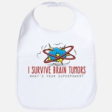 I Survive Brain Tumors Bib
