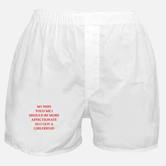 affection Boxer Shorts