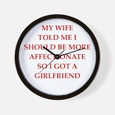 affection Wall Clock