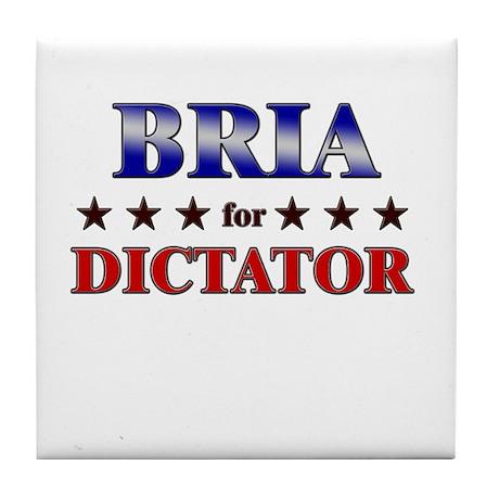 BRIA for dictator Tile Coaster