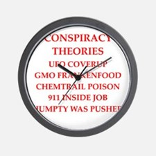 conspiracy theories Wall Clock