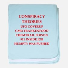 conspiracy theories baby blanket