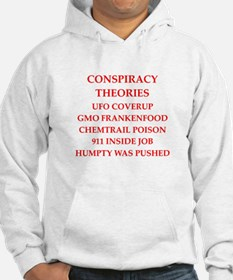conspiracy theories Hoodie