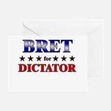 BRET for dictator Greeting Card