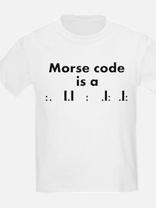 Morse Code is a Skill T-Shirt