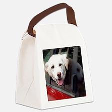 Dog Smile Canvas Lunch Bag