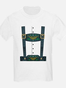 Lederhosen Oktoberfest T-Shirt