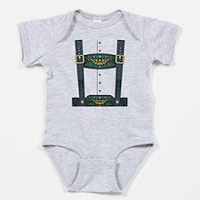 Lederhosen Oktoberfest Baby Bodysuit