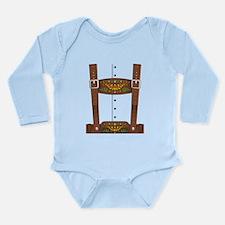 Lederhosen Oktoberfest Long Sleeve Infant Bodysuit